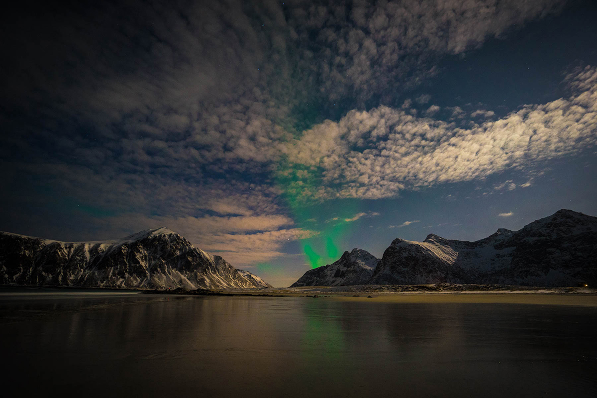 Northern Lights Norway by Irene