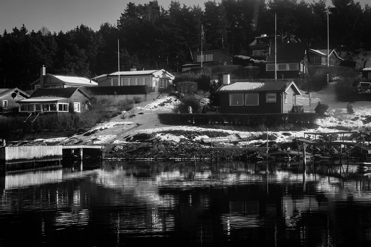 Norway in Black and White by Irene Berger