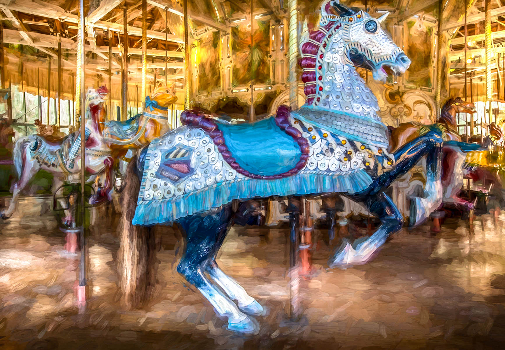 Carousel by Jim Berger Photographer