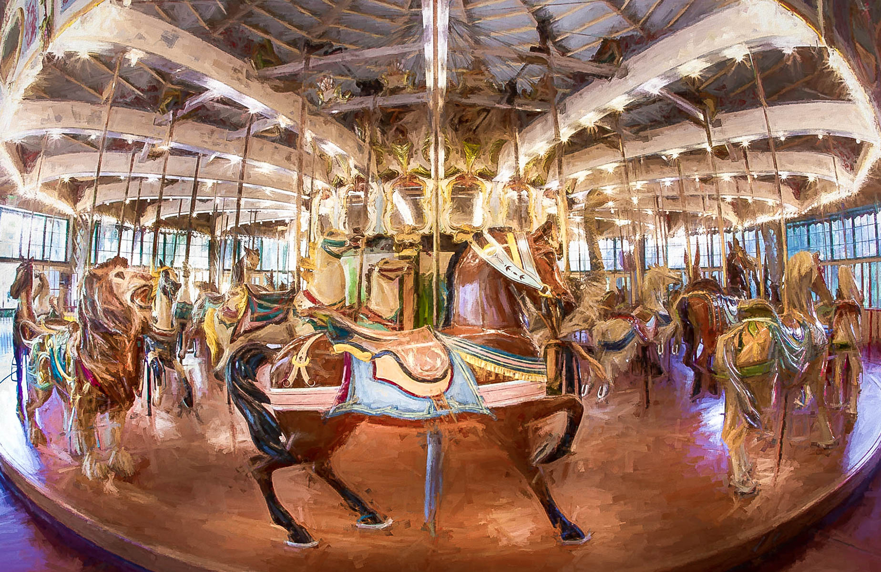 Carousels What a History by Jim Berger